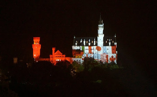 Neuschwanstein Castle welcomes G7 finance ministers