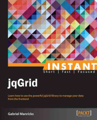Instant jqGrid Cover