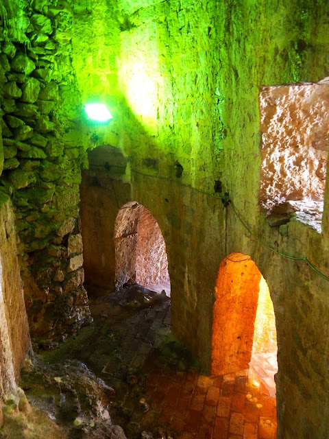 Prison in Spanish Fortress, Hvar, Dalmatian Coast Islands, Croatia