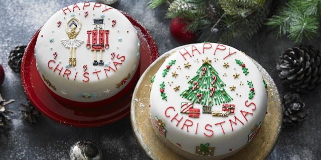 Christmas Cake | Traditional Christmas Cake Images