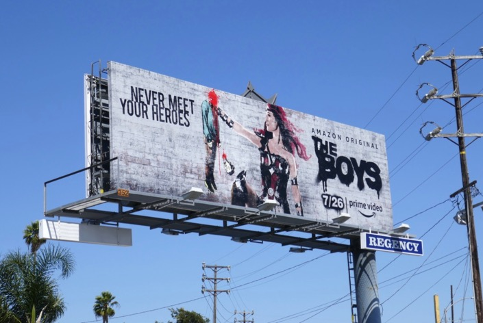 The Boys Queen Maeve billboard