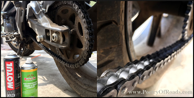 Do you take your Motorcycle Chain for granted