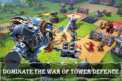 Download Heroes of Skyrealm Mod Apk Fast Level 1.3.1 Terbaru