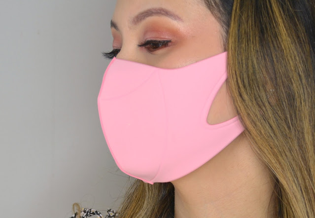 hmnkind Antibacterial Performance Face Mask in Pink