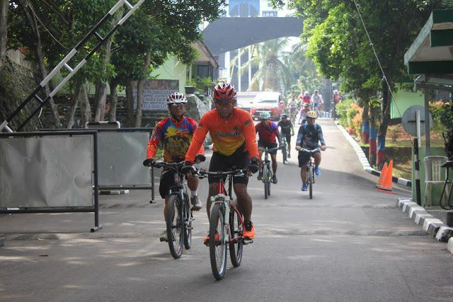 Rajawali Bike Community Gelar Gowes Bersama di Tangerang