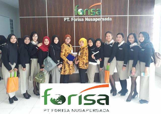 Lowongan Kerja SMA SMK D3 S1 PT. Forisa Nusapersada, Jobs: Distributor Salesman, Coordinator Salesman Horeka, Helper Warehouse, Perawat, Finance Supervisor, Etc.