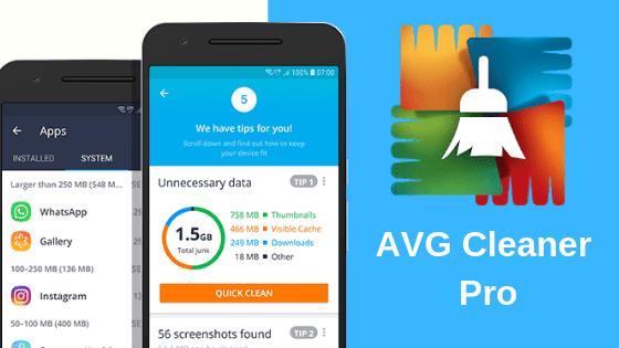 تحميل تطبيق AVG Cleaner – Speed, Battery & Memory Booster v4.20.1 (Pro) Apk