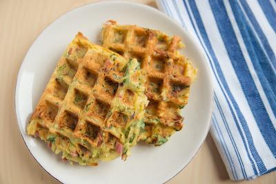 Paleo Sweet Potato Waffles