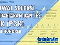 Jadwal Pendaftaran dan Tes Rekruitmen PPPK Guru Honorer 2021
