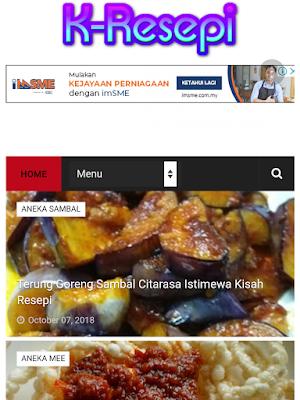 Aneka Jenis Resepi Di KisahResepi.com