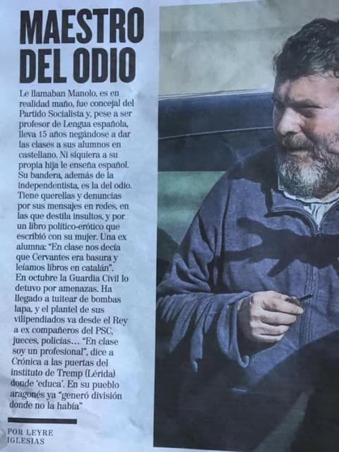Manuel Riu Fillat insulte a amics del chapurriau, Ignacio Sorolla li riu les poques grássies