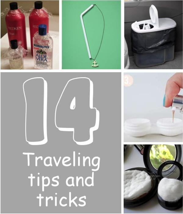 14 Traveling Tips & Tricks