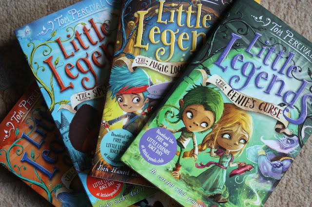 Little Legends books by Tom Percival