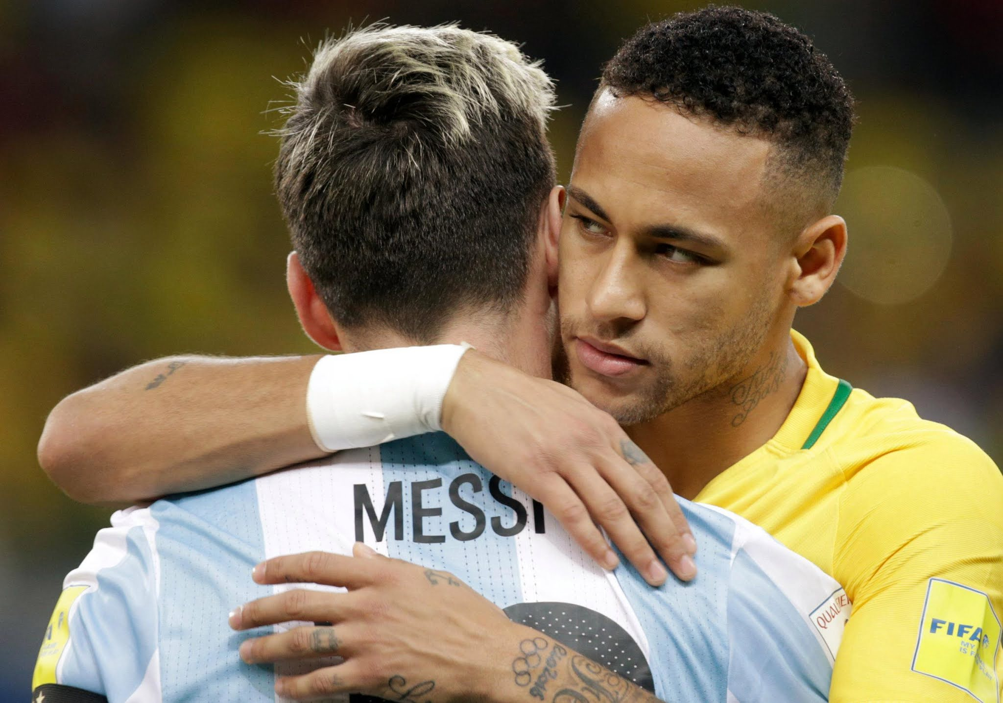 Neymar and Lionel Messi will face off in the 2021 Copa America final
