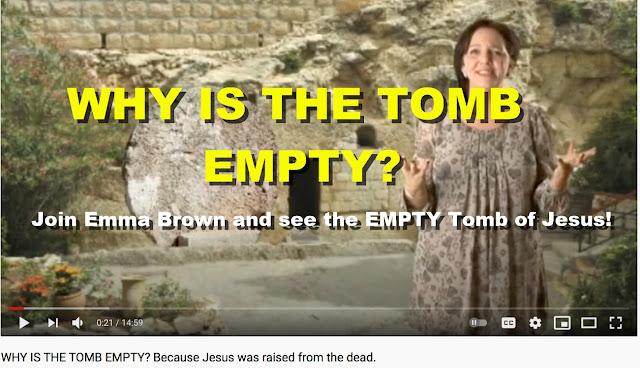 WHY IS THE TOMB OF JESUS EMPTY?