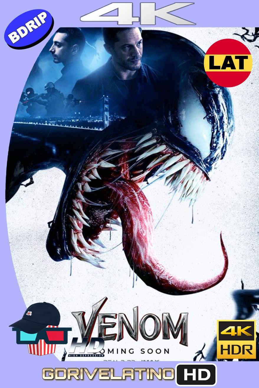 Venom (2018) BDRip 4K HDR Latino-Ingles MKV