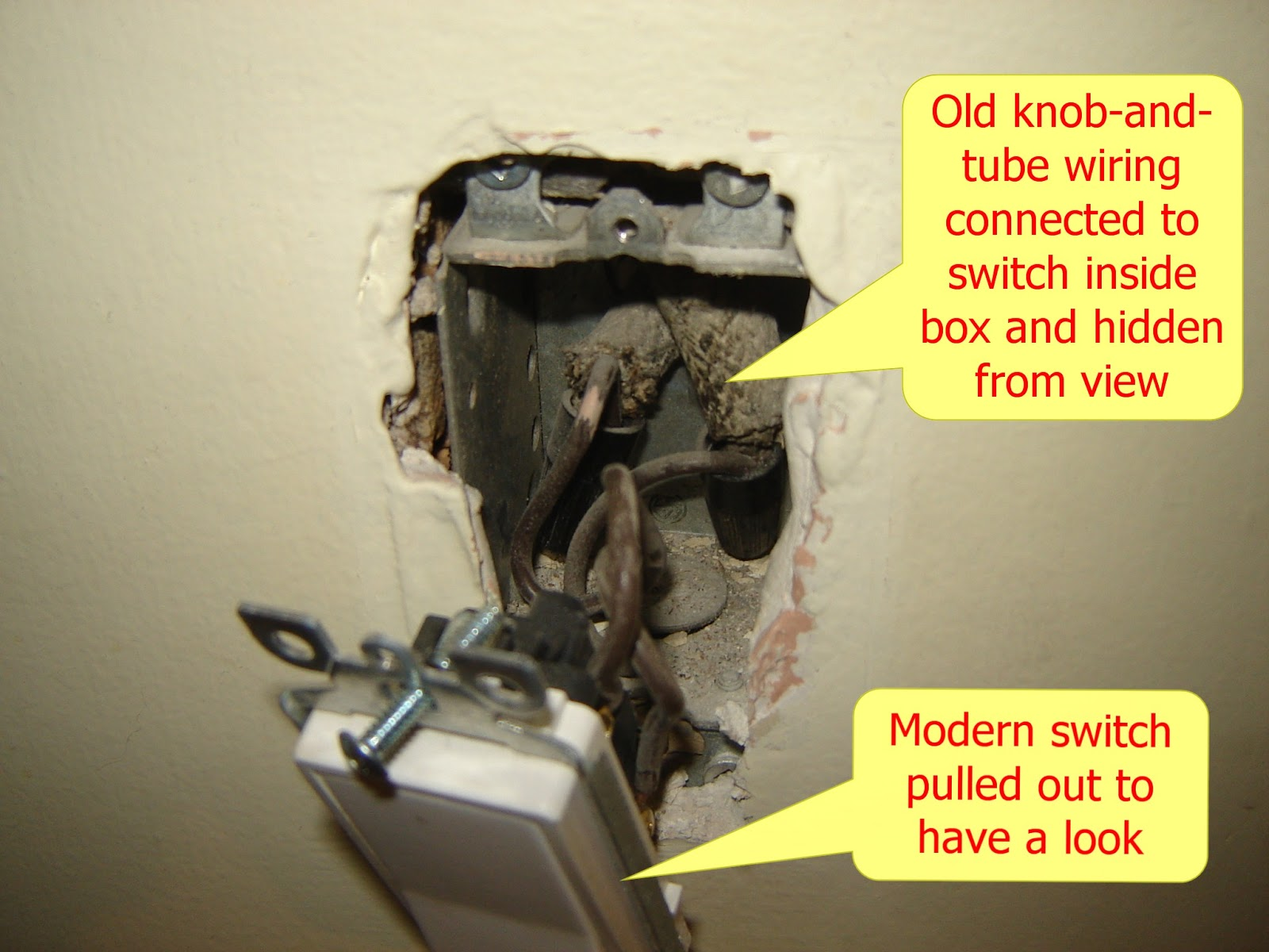 Home Buyers Advisors: AND TUBE WIRING: THE CURSE OF OLD ... on old tube oil, black tube wiring, open tube wiring,