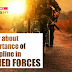 Know about Importance of Discipline in Armed Forces