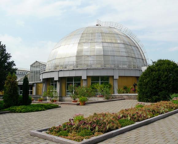 Донецк. Ботанический сад. Оранжерея