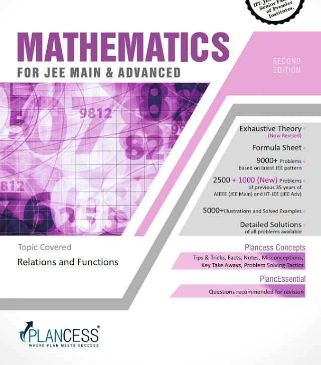 RELATIONS AND FUNCTIONS NOTE BY PLANCESS