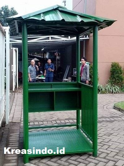 Jasa Pembuatan Pos Satpam Portable di Jabodetabek, Kualitas Terjamin Nomor Satu