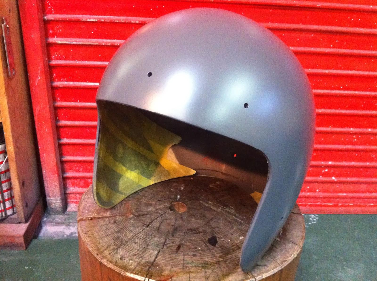 1230175785 - カスタムペイント工程 OGK ジェットヘルメット