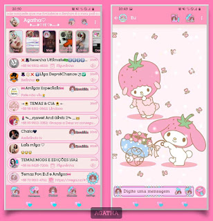 My Melody Theme For YOWhatsApp & Fouad WhatsApp By Agatha