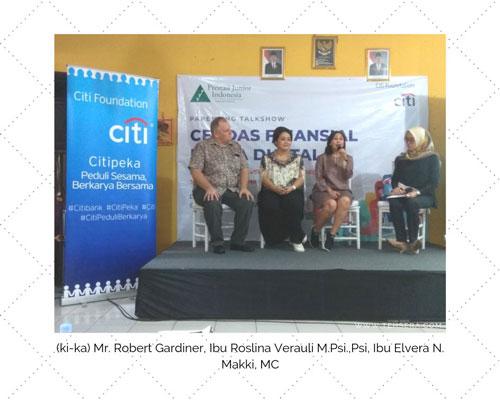 talk show gerakan cerdas finansial usia dini