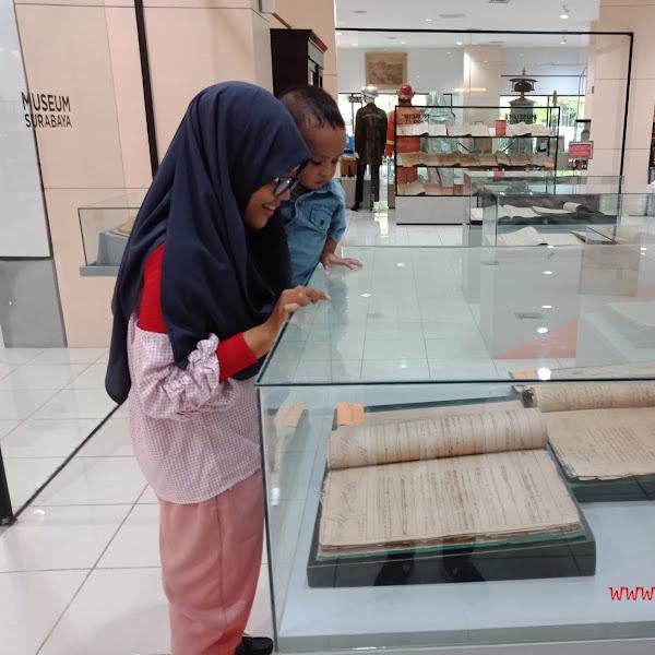 Pembelajaran Anak Usia Dini ke Museum Surabaya