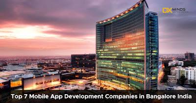 Top 7 Mobile App Development Companies in Bangalore India