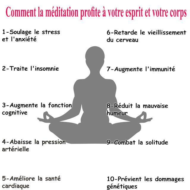 La recherche montre comment la méditation profite à votre esprit et votre corps