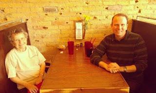 Mary Gardner and I a few years ago at Black Bird in Fargo