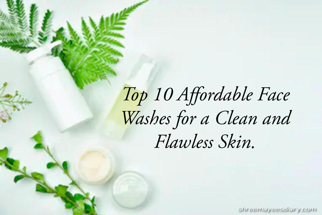 Face washes, tips, affordable, natural