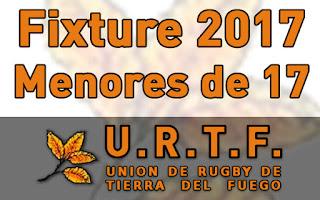 [URTF] Fixture - Torneo Provincial 2016-2017 - Menores de 17