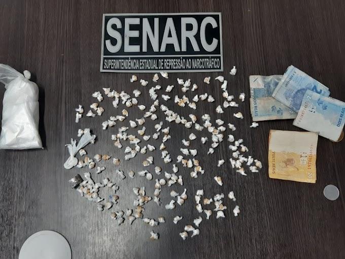 """""""AUDÁCIA"""" - Jovem é presa com mais de 200 pedras de crack na calcinha no Maranhão"""
