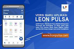 Update ! Aplikasi Jualan Pulsa Termurah Terbaru Seindonesia Leon Pulsa