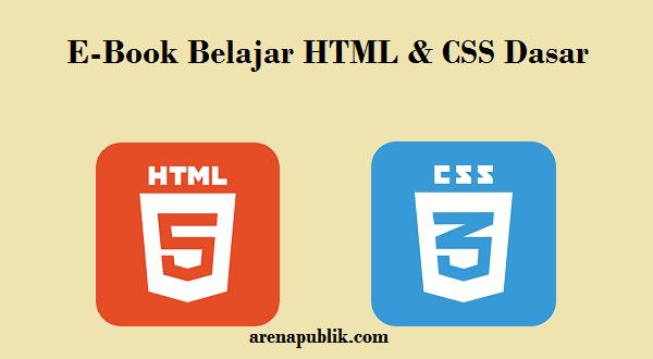 E-book Belajar HTML dan CSS Dasar