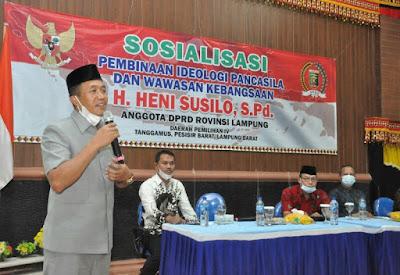 DPRD Lampung Tanggapi Keluhan Turunnya Harga Gabah