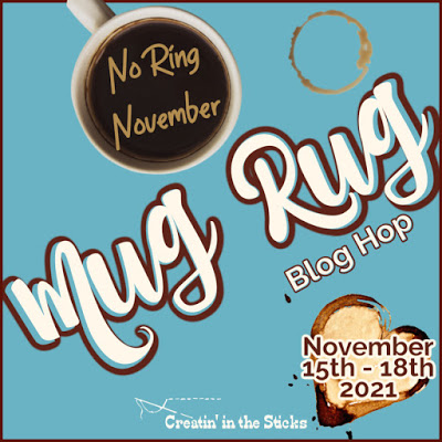 No Ring November Mug Rug Blog Hop