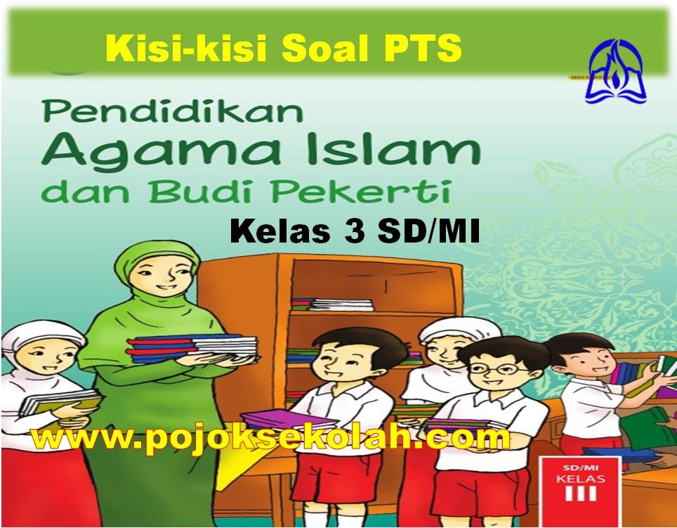 Kisi-kisi Soal PTS Mapel PAI & BP Kelas 3 SD