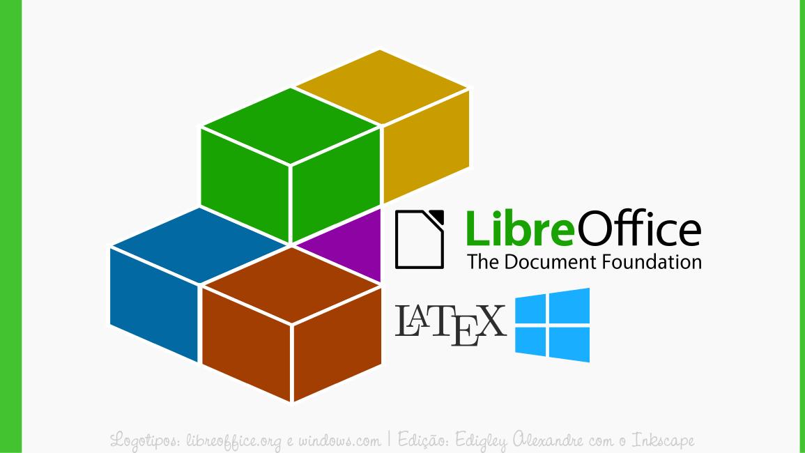 Dica rápida de como executar a extensão TexMaths com o LibreOffice Writer 6 para Windows
