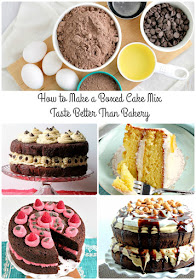 """Magically transform a store bought cake mix into a moist, crowd-pleasing layer cake with my """"secret"""" hack for How to Make a Boxed Cake Mix Taste Better Than Bakery."""