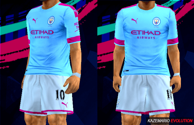 sale retailer 1a350 5f89a Manchester City 19-20 Home Kit Leaked For PES PPSSPP
