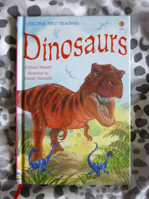 Usborne First Reading Dinosaur Book