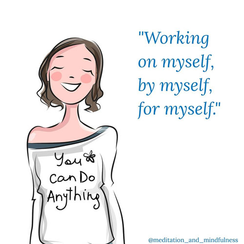 23 Self Care Quotes to Take Care of Yourself and Your Body. Positive Vibes via thenaturalside.com | you can do anything | #selfcare #wellness #selflove #quotes