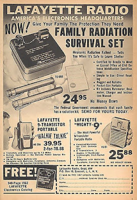 Lafayette Radio Family Radiation Survival Set