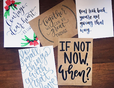 Looking Back at the Dressember Lettering Challenge