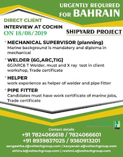 Shipyard Project required for Bahrain