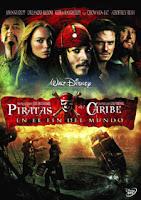 Piratas del Caribe En el Fin del Mundo DVD