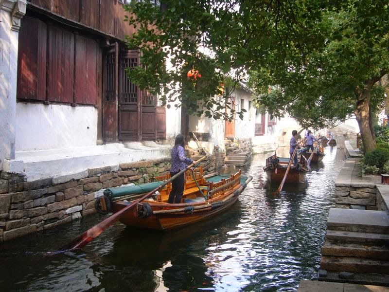 Zhouzhuang water town of China